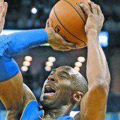Kobe Bryant ist Michel Jordan auf den Fersen