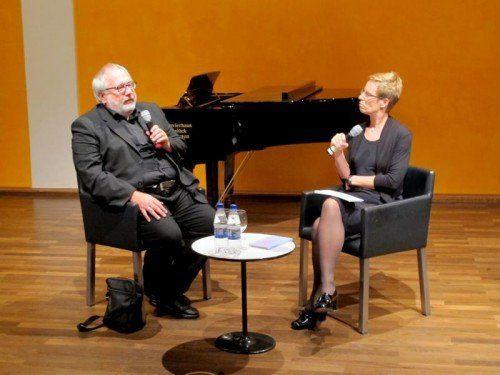 Richard Dünser ist Composer in Residence.  Foto: ju