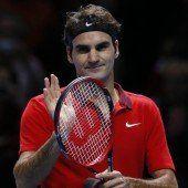 Starker Federer demütigt den Briten Murray