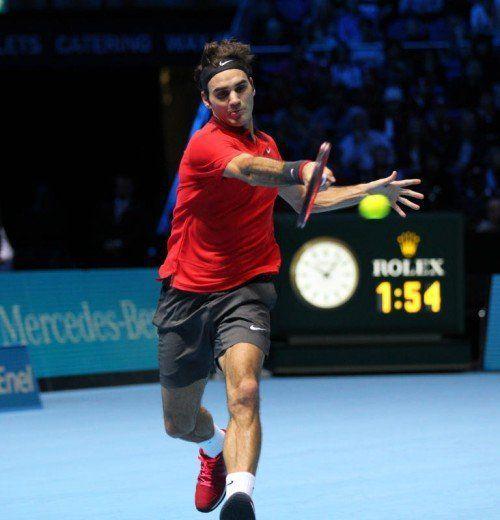 Roger Federer soll das Tennis in Asien populär machen. Foto: ap