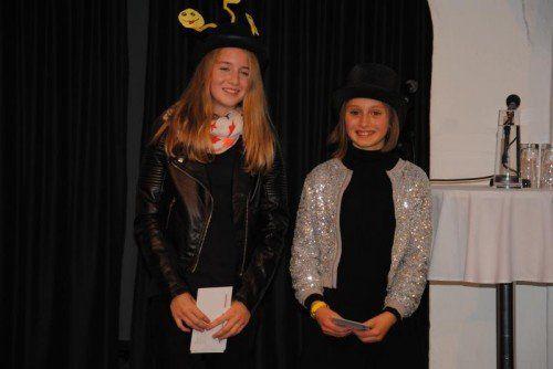 Siegerinnen Emma Venier und Lea Engelmann. Foto: TaS