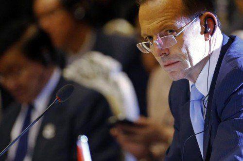 Tony Abbott ist Gastgeber des G20-Gipfels.  FOTO: REUTERS