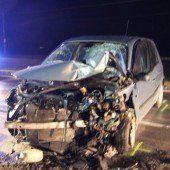 L 190: Vier Verletzte nach schwerem Unfall