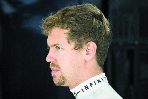 Unzufrieden mit der Saison: Sebastian Vettel. Foto: reuters