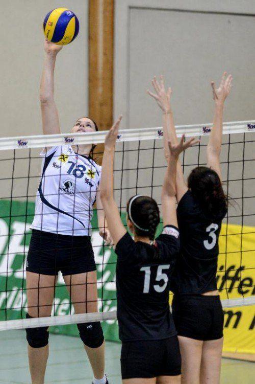Veronika Reiner fällt verletzungsbedingt aus. Foto: VN/Lerch
