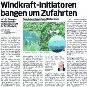 Windkraft-Projekt in der Flaute