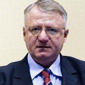 Kranker Seselj nach Serbien zurückgekehrt