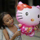 Vierziger-Feier bei Hello Kitty