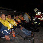 Notfallübung Möwe auf dem Flughafen Altenrhein