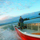 Gefangen im Netz des Fischers