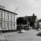 vorarlberg einst und jetzt. Die Bahnhofstraße in Dornbirn