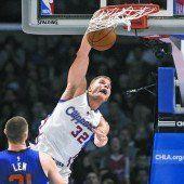 Clippers siegten mit 45 Punkten von Griffin
