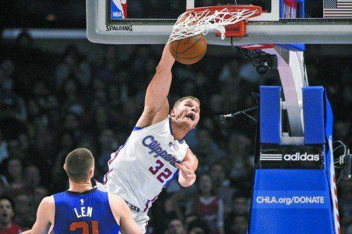 45 Punkte für die Clippers: Blake Griffin. Foto: ap