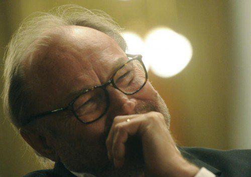 """Klaus Maria Brandauer las nicht den """"Sommernachtstraum"""", sondern """"Moby Dick"""" und begeisterte jedenfalls bei """"Kultur Leben"""". Foto: APA"""