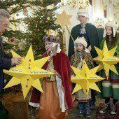 Friedensbotschaft in die Hofburg getragen