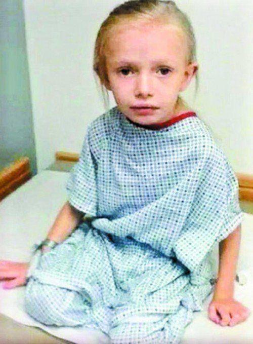 Addie Fausett ist seit dem dritten Lebensjahr nicht mehr gewachsen.