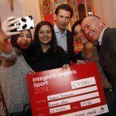 Integrationspreis Sport für Bregenzer Amazone