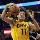 Cleveland-Star Varejao riss sich Achillessehne