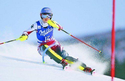 Auf Platz fünf beste ÖSV-Dame: Michaela Kirchgasser. Foto: ap