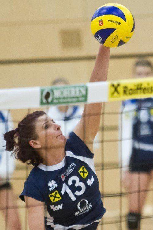 Beata Horvath führt mit 77 Punkten die Skorerliste an.  steurer
