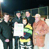Ehrung und große Party beim Eishockeyfest