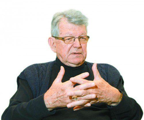 Bischof Erwin Kräutler.  Foto: VN
