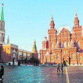 Die Machtzentrale Moskaus: der Kreml