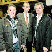 Christian Natter, Christoph Hinteregger und Christoph Jenny.