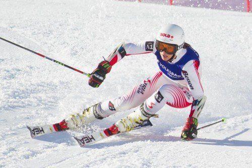 Christine Scheyer gibt morgen ihre Premiere im Weltcup. Foto: steurer