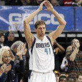 Nowitzki mit Meilenstein in der NBA
