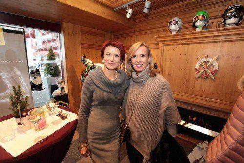 Damenduo: Michaela Fritz (l.) und Christine Ehrle. Fotos: AME