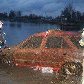 Gestohlenen Pkw im Bodensee versenkt