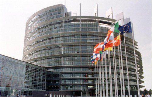 Das EU-Parlament in Straßburg: Schweden, Finnland und Österreich wurden 1995 in die Europäische Union aufgenommen.  Foto: EPA