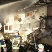 Haus in Nenzing abgebrannt