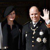 Fürst Albert und seine Charlène im Elternglück