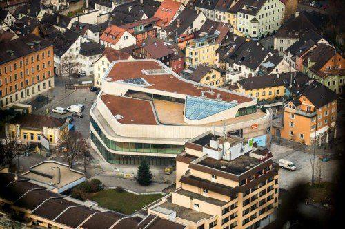 Feldkircher Montforthaus ist für vier Tage Schauplatz des Städtetags. VN/STeurer