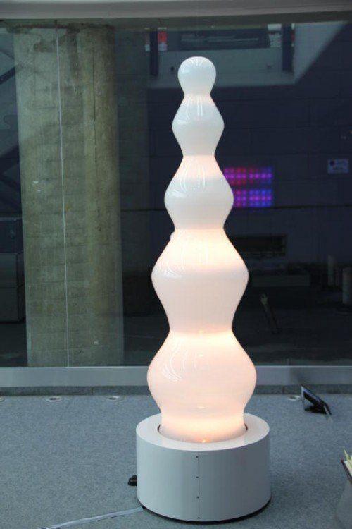 Das Phänomen Licht als zentrales Thema der Ausstellung.