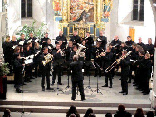 Der Chor Vocale Neuburg und Sonus Brass sind bekannt dafür, dass sie Grenzen überspringen.  Foto: Jurmann