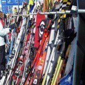 Ski-Diebstahl vorgetäuscht