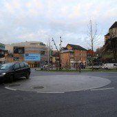 Kreisverkehr für Stadtbus