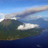 Vulkanausbruch: Neun Verletzte in Indonesien