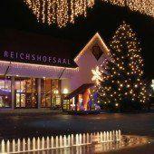 Weihnachtswald im Herzen Lustenaus