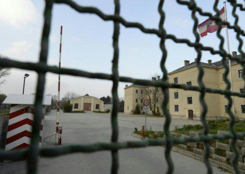 Die Magdeburg-Kaserne in Klosterneuburg könnte um 100 Flüchtlingsplätze erweitert werden.  FOTO: APA