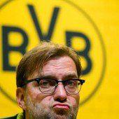 Dortmund-Trainer Klopp denkt nicht an Rücktritt