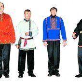 Konzert Russische Weihnacht: Das Moskauer St. Daniels Quartett singt am Sonntag um 19 Uhr in der St. Martins Kapelle Bregenz.