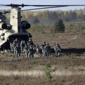 NATO verstärkt Kräfte im Baltikum