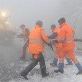 Starker Eisregen plagt den Osten Österreichs