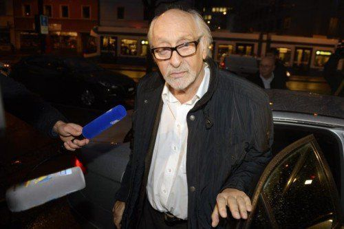 Entertainer Karl Dall hat während des Vergewaltigungsprozesses in Zürich erneut seine Unschuld beteuert. Foto: EPA