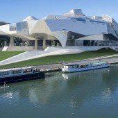 Kurioser Museumsbau für Lyon