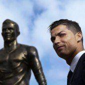 Madeira ehrt Ronaldo mit Bronzestatue